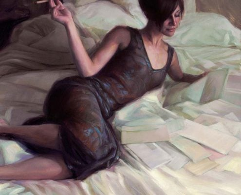 Art of Gabriel Lipper - Chasing the Muse - The Neighbors Mail