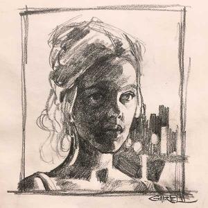 Art of Gabriel - Faces - Sketch