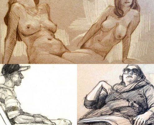 Art of Gabriel Lipper Sketches