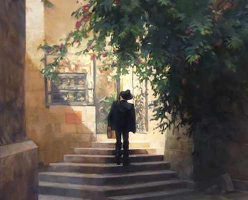Art of Gabriel Lipper - Travel Without Knowing - The Empty Tomb