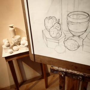 Learning to See: Academic Drawing - from contour to construction