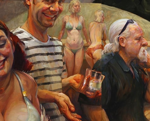 Art of Gabriel Lipper - American Dream - The Siren