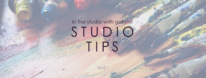 Studio Tips from Gabriel Lipper